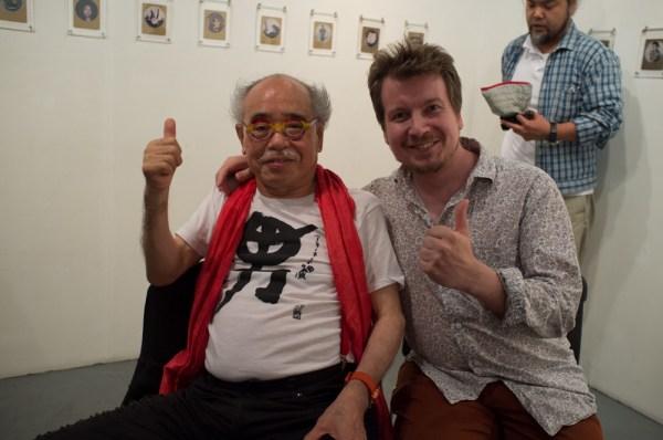 Araki Nobuyoshi and Jaakko Saari