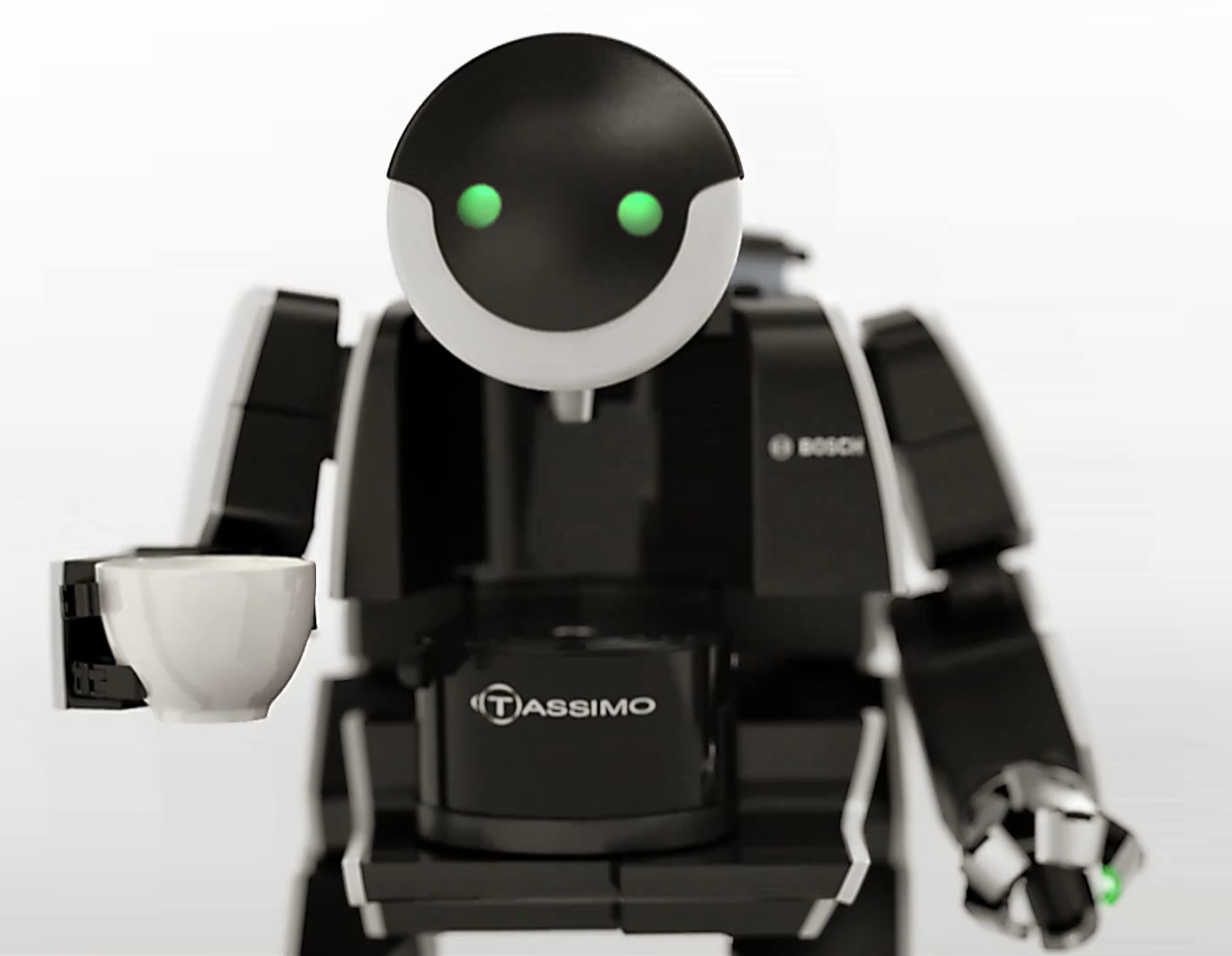 Robot Coffee Machines The Tassimo BrewBot Commercial  Hizook