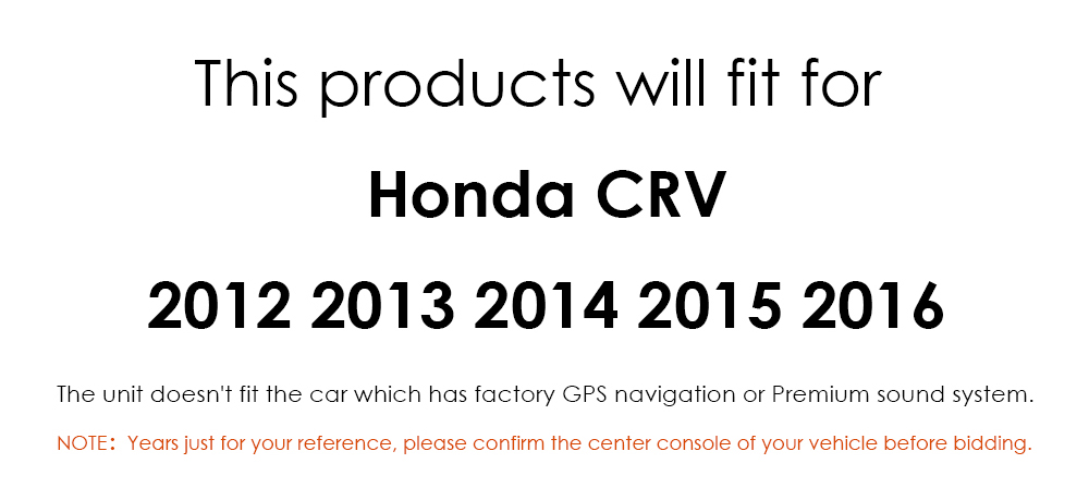 Android 10 for Honda CRV 2012-2016 7