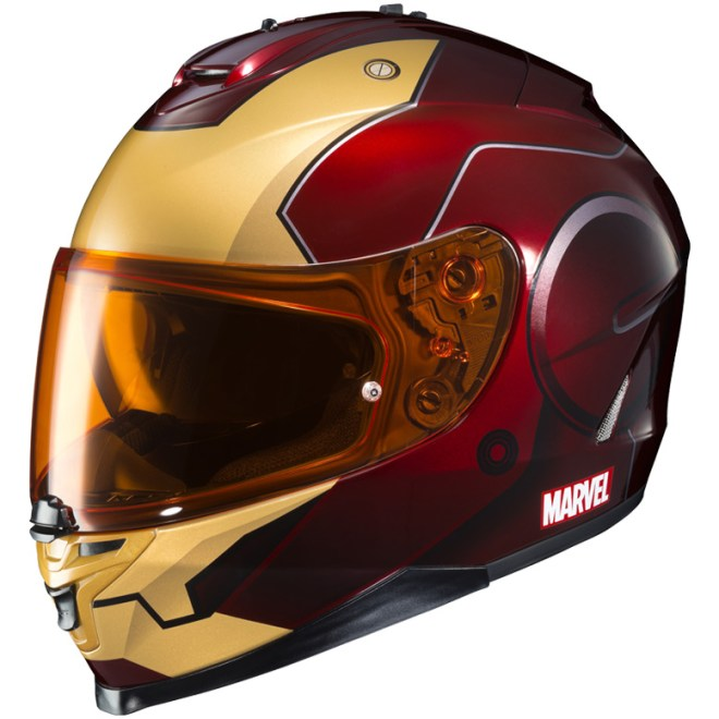 Hjcs Ly Licensed Marvel Graphic Helmets