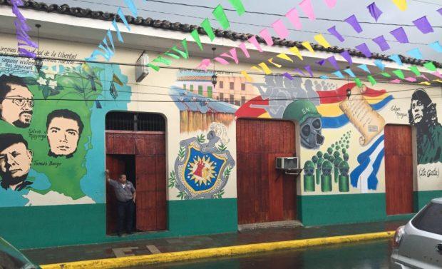 street art revolution FSLN Nicaragua