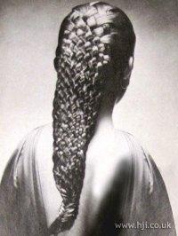 1979 woven braid hairstyle