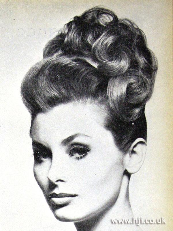 1962 updo curls hairstyle  HJI
