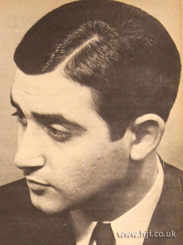 1967 men smart hairstyle  HJI