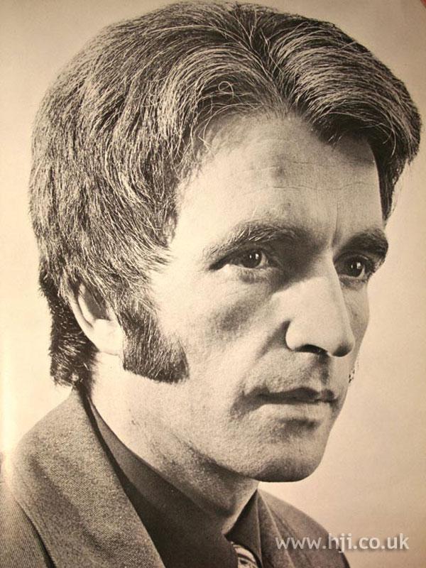 1971 men parting hairstyle  HJI