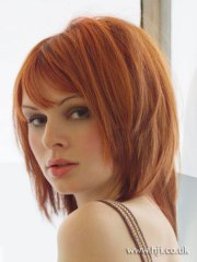 2005 redhead texture hairstyle