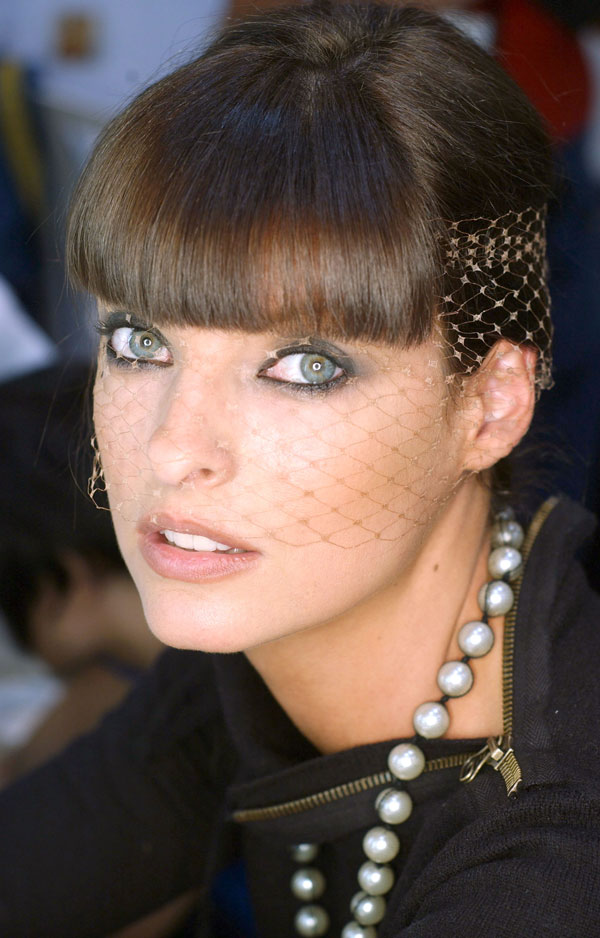 Happy Birthday Linda Evangelista Hair History In Pics HJI