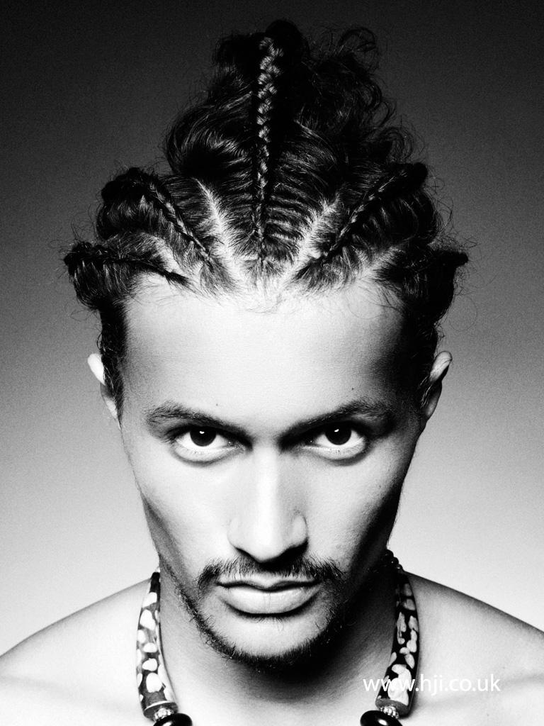 2015 mens tribal braids  HJI