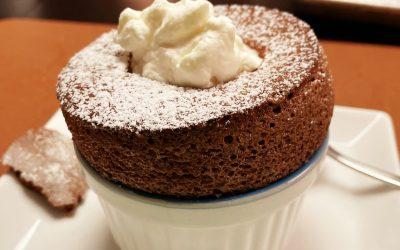 Chokoladesoufflé
