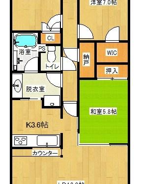 各居室に収納スペースがあります♪(間取)