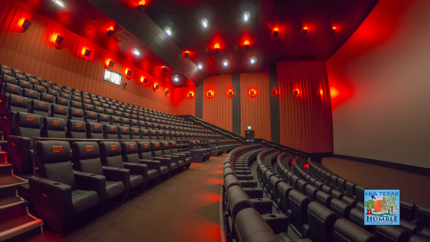 3d Fall Ceiling Wallpaper Photos Amp Video Of The New Showbiz Sdx Theater In Kingwood