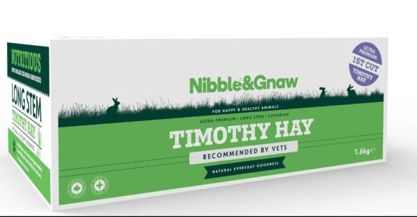 Nibble & Gnaw 加拿大提摩西草一割 1.6kg Timothy Hay 1st cut