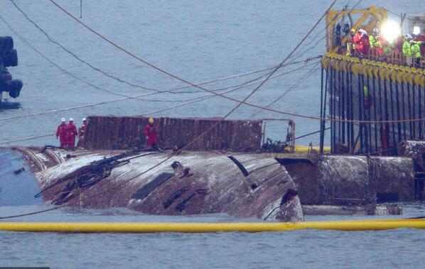 韓國世越號沉沒3年后終于浮出水面-香港商報