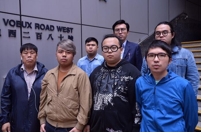 涉反釋法遊行衝擊中聯辦 反對派9人被捕-香港商報