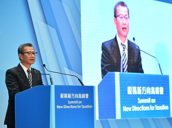 陳茂波:香港稅制具競爭力 不會貿然全面減稅-香港商報