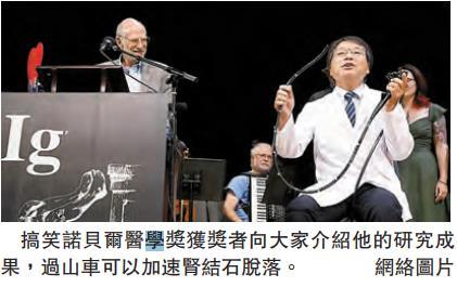 第28屆搞笑諾貝爾獎揭曉-香港商報