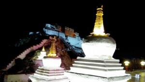 (29)拍攝者:江順意 相片標題: 遠眺布達拉宮夜景