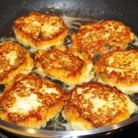 Cous-Cous/Quark/Gemüse-Frikadellen vegetarisch