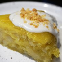 Bánh chuối hấp / Gedämpfter Bananen-Tapioka-Pudding