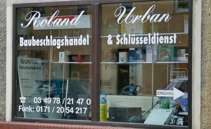 Baubeschlaghandel & Schlüsseldienst Urban in Radegast
