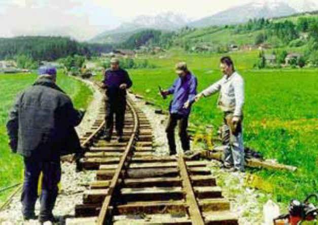 Blonde Jokes Train Tracks