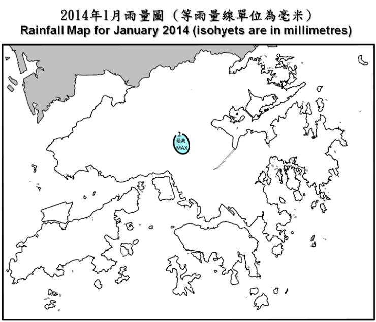 The Weather of January 2014  Hong Kong Observatory(HKO