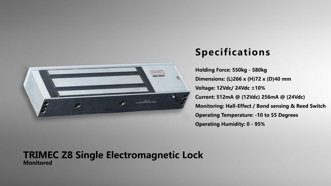 600lbs280kg Holding Force Electric Strike Locks Protect Single Em