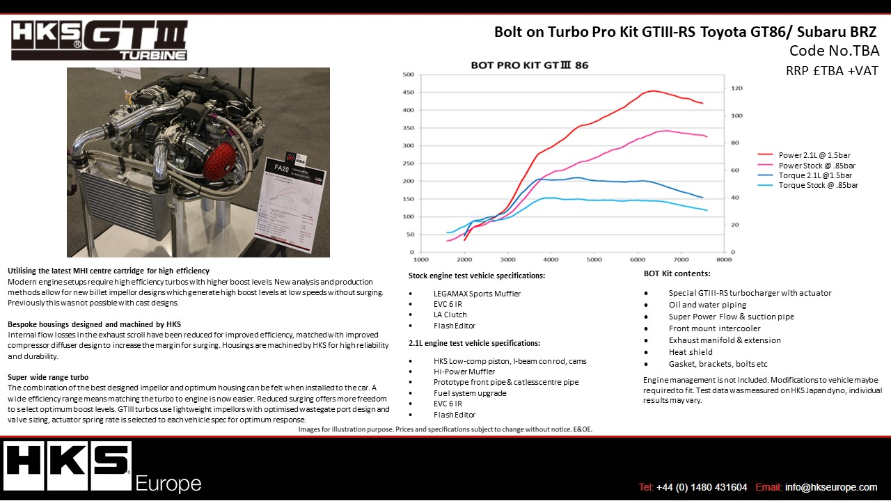 hight resolution of toyota gt86 subaru brz gtiii rs bolt on turbo kit coming soon