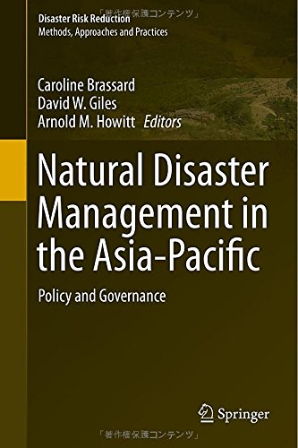 Book Cover of Natural Disaster Management in the Asia-Pacific