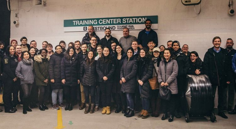 MLD-412 MBTA student site visit