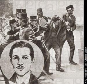 Gavrilo Princip srpski terorist