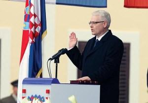 Inauguracija Ive Josipovica 2010