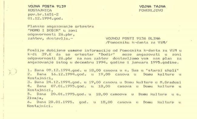 Angazovanje Mome 1994jpg
