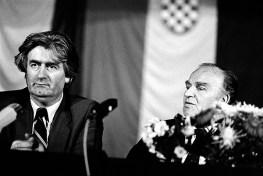 Karadzic Izetbegovic