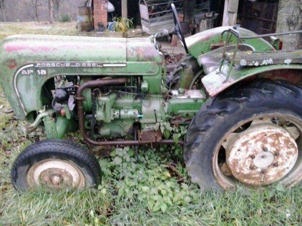 Traktor od Jovice