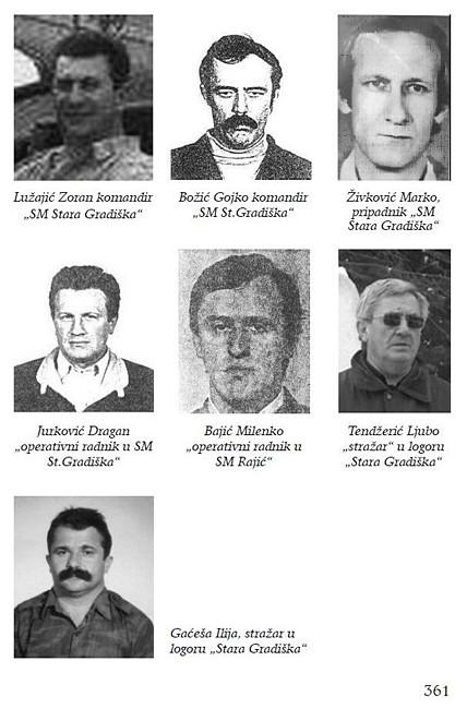Zapovjedništvo - zapovjednici - Srpski logor Stara Gradiška