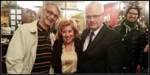 Nenad Horvat i Ivo Josipović