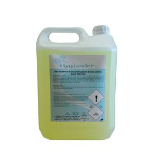 detergente desodorizante bioalcohol baja espuma