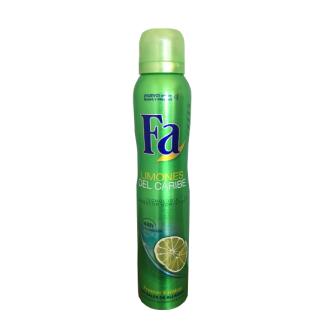 desodorante deo spray fa limones del caribe 200 ml