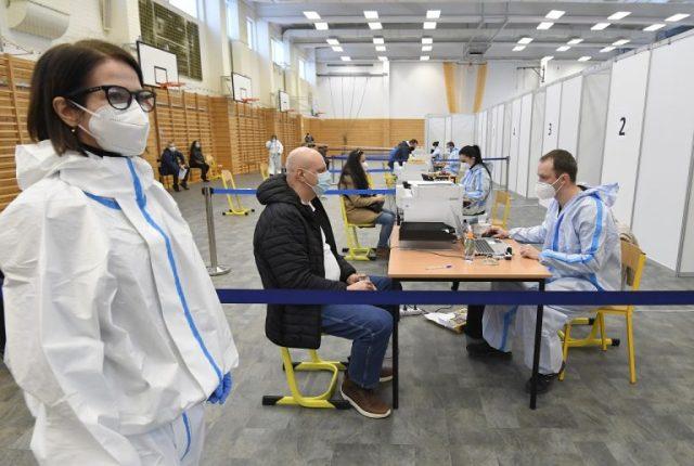 Očkovanie centrum Košice