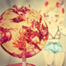 Safflower Lollypop