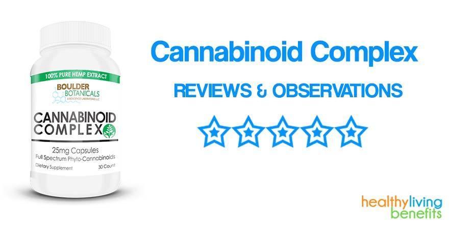 Boulder Botanical's Cannabinoid Complex Dietary Supplement Review