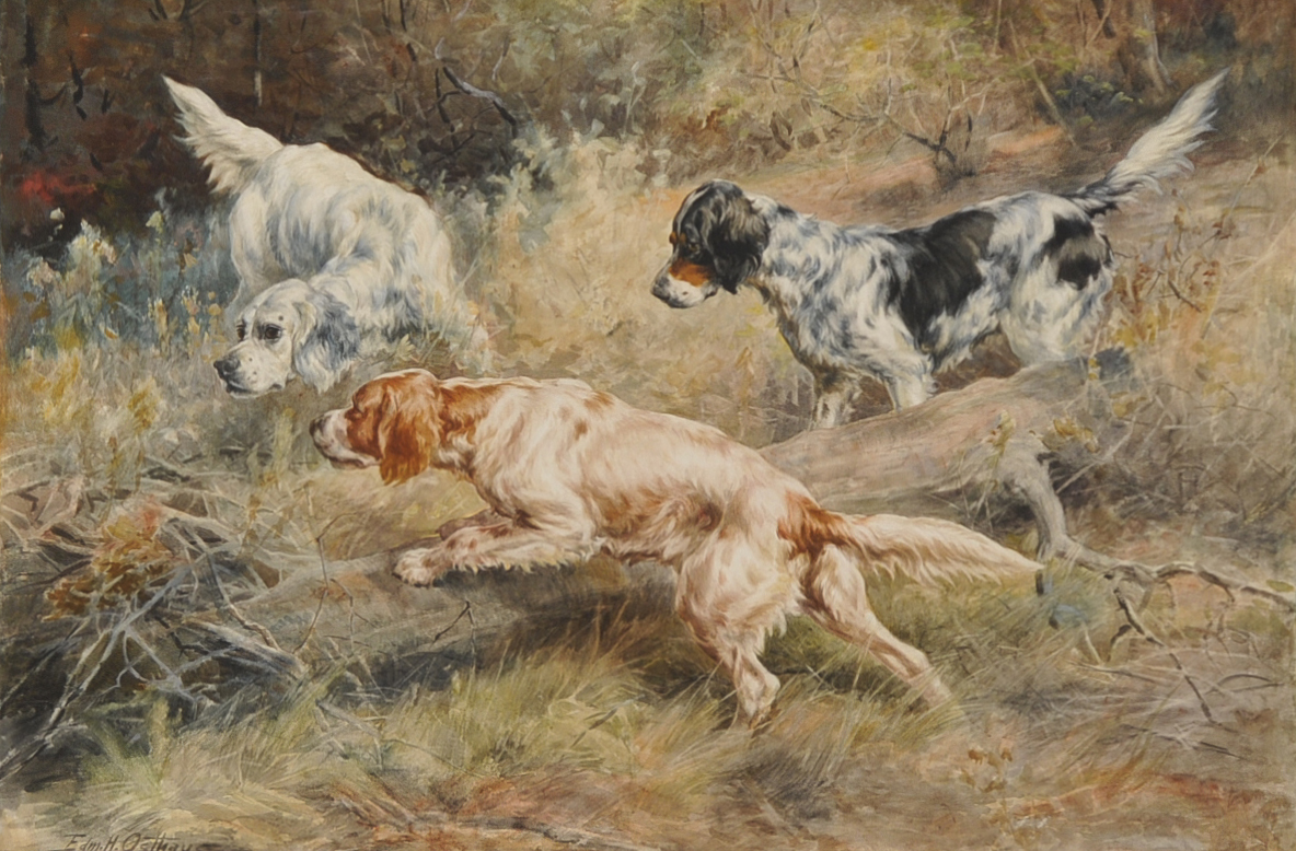 Watercolor on Paper by Edmund Osthaus SOLD  hlchalfantcom
