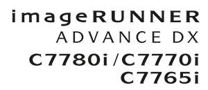 Color imageRUNNER ADVANCE DX-C7700 Series