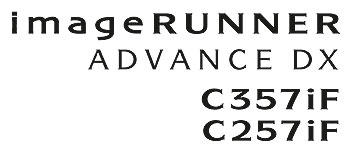 Color imageRUNNER ADVANCE DX C357iF/C257iF