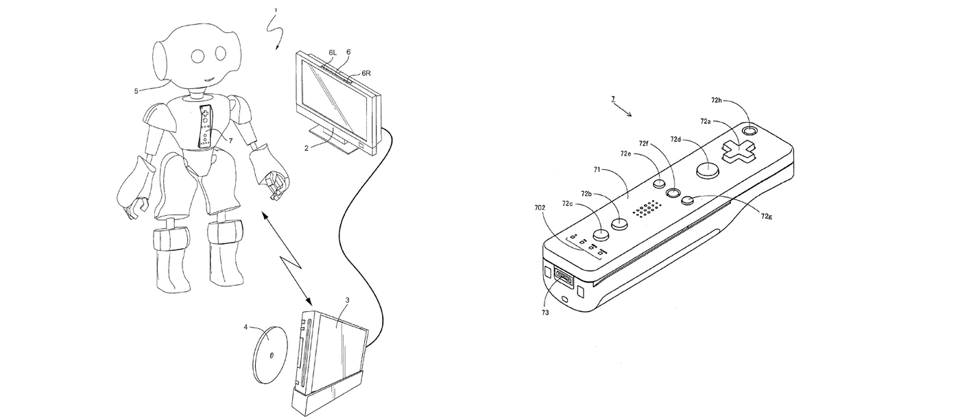 Nintendo receives patent for embedding wii contollers in toys