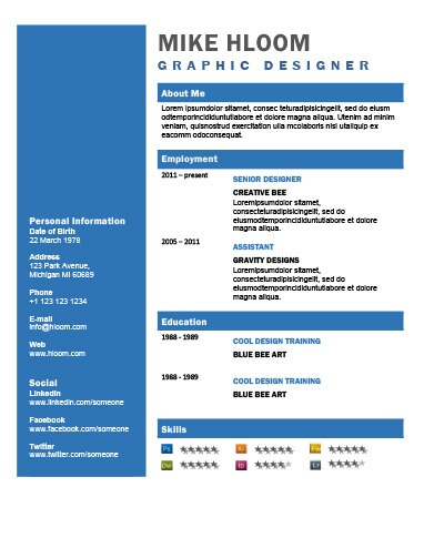 49 Creative Resume Templates Unique Non Traditional Designs