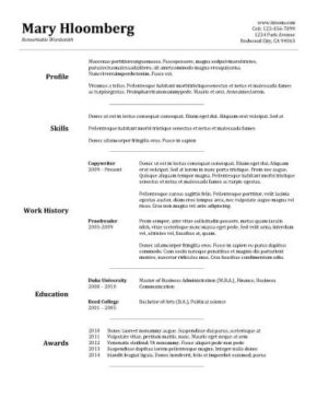 Free Resume Templates You'll Want to Have in 2018 [Downloadable]