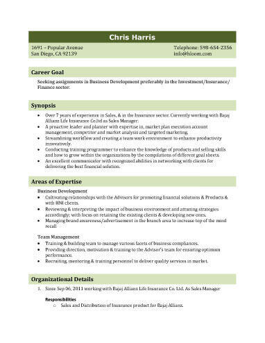 Biodata What It Is 7 Biodata Resume Templates Hloom
