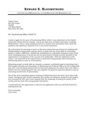 How to Write a Cover Letter 250 FREE Templates